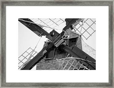 Windshaft Bw Framed Print