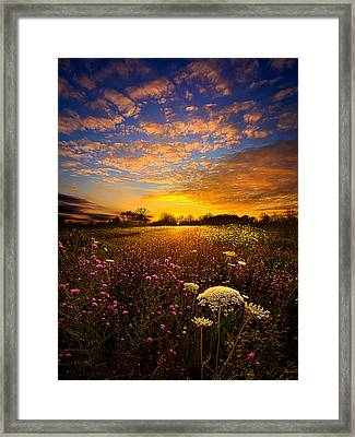 Windsong Framed Print by Phil Koch