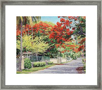 Windsor Avenue Framed Print