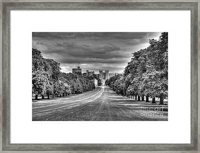 Windsor Castle  Infrared Framed Print