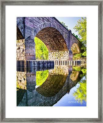 Windsor Rail Bridge Framed Print