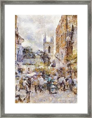Windsor Street Framed Print