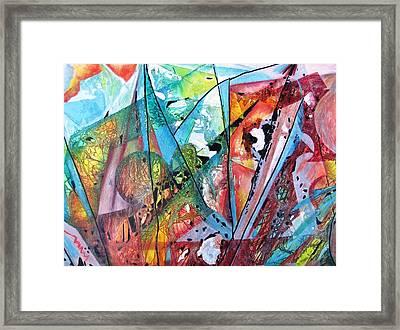 Windswept Framed Print by David Raderstorf