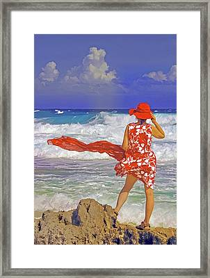 Windswept Framed Print by Dennis Cox WorldViews