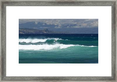 Windswept Ho'okipa Framed Print