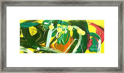 Framed Print featuring the painting Windswept IIi by Angela L Walker