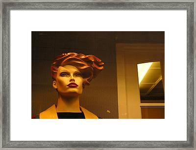 Windswept Framed Print by Jez C Self