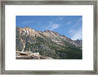 Windswept Sawtooth Framed Print