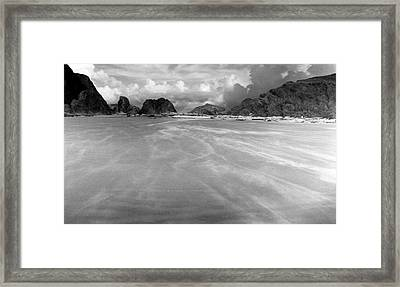 Windswept Framed Print by Tom Melo