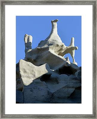Windup Duck Framed Print by Jeff Brunton