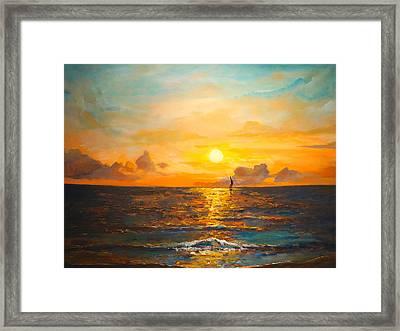 Windward Framed Print