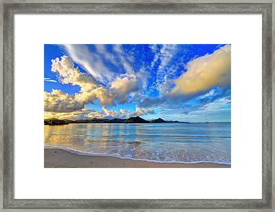 Windward Framed Print by Scott Mahon