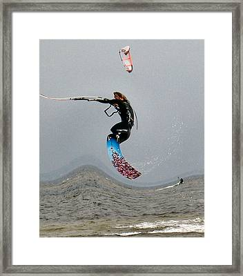 Windworthy Framed Print by Kent Dunning