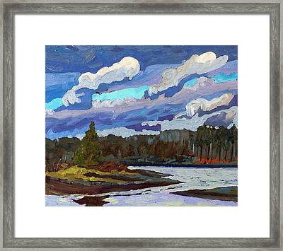 Windy At Jim Day Framed Print by Phil Chadwick