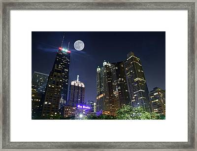 Windy City Framed Print
