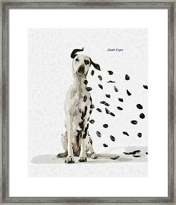 Windy Day - Da Framed Print