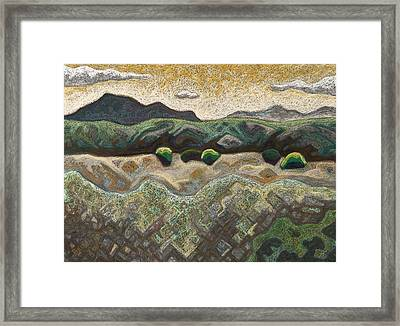 Windy Day Framed Print by Dale Beckman