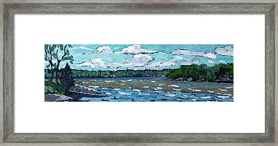 Windy Day Framed Print by Phil Chadwick