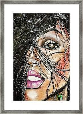 Windy Daze Framed Print