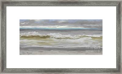 Windy Hill Beach - Myrtle Beach, Sc Framed Print by Terri  Meyer