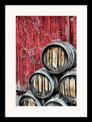 Winery Framed Prints