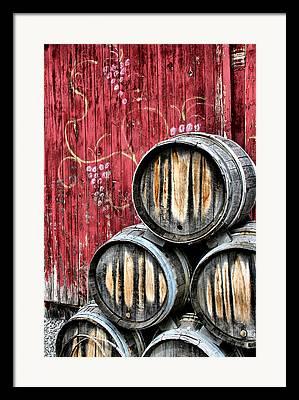 Wineries Framed Prints