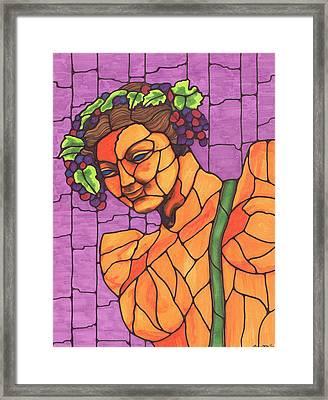 Wine Bearer Framed Print