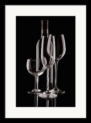 Dark Wine Framed Prints