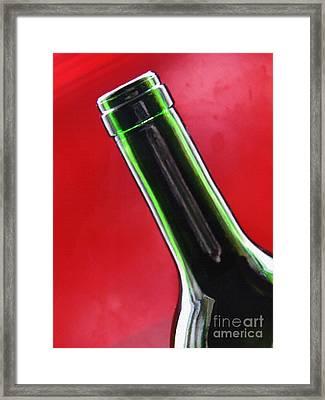 Wine Bottles 8 Framed Print