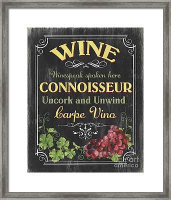 Wine Cellar 2 Framed Print by Debbie DeWitt