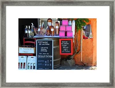 Framed Print featuring the photograph Wine Cellar by Richard Patmore