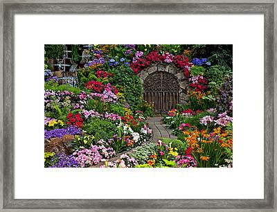 Wine Celler Gates  Framed Print