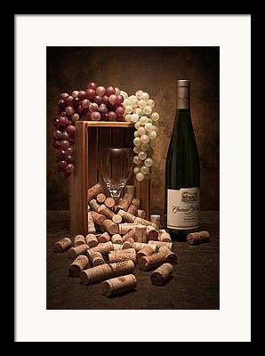 Wineglass Framed Prints