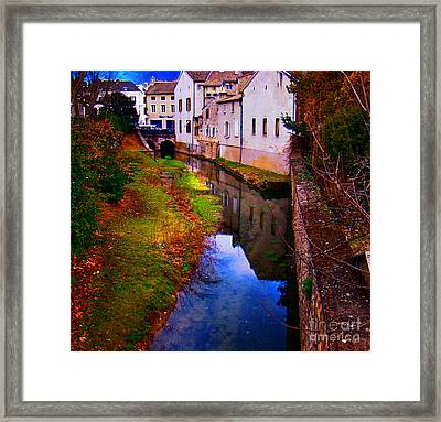 Wine Country, Beaune, France Framed Print