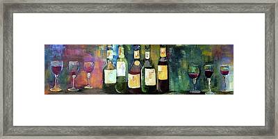 Wine Country Classic Framed Print by Lisa Kaiser