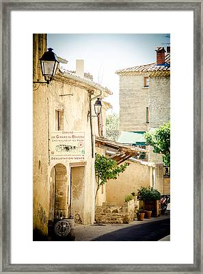 Framed Print featuring the photograph Wine Country by Jason Smith