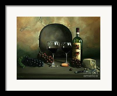 Concord Grapes Framed Prints