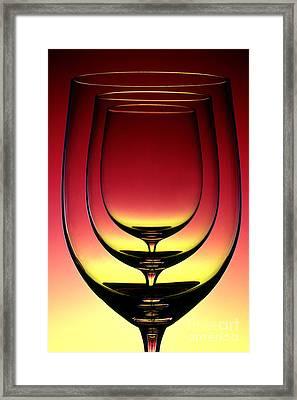 Wine Glass 4 Framed Print