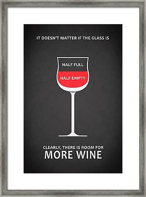 Wine Glasses 1 Framed Print by Mark Rogan