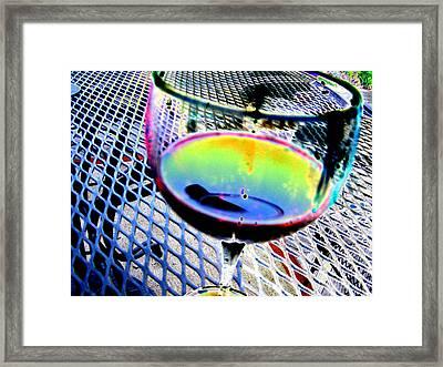 Wine Horizontal Framed Print by Peter  McIntosh