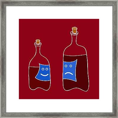 Wine Lovers Framed Print by Frank Tschakert