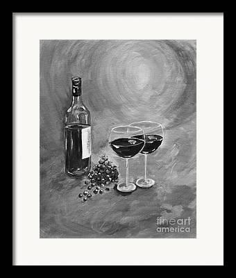 Images Of Wine Bottles Paintings Framed Prints