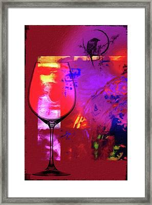 Wine Pairings 1 Framed Print
