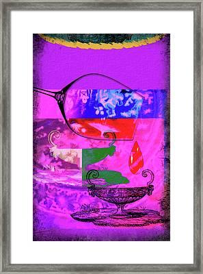 Wine Pairings 6 Framed Print