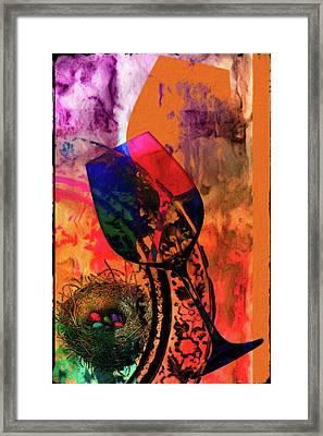 Wine Pairings 7 Framed Print by Priscilla Huber
