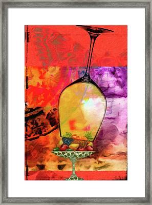 Wine Pairings 8 Framed Print