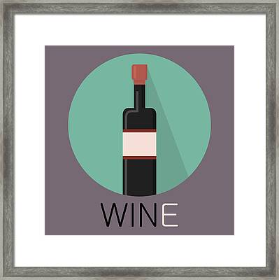 Wine Poster Print - Win And Wine Framed Print