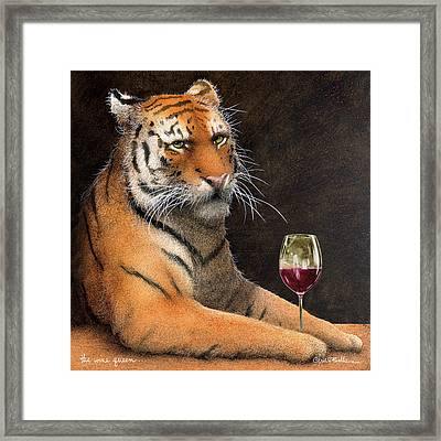 Wine Queen... Framed Print
