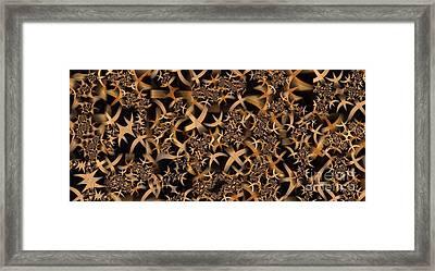 Wine Rack Framed Print by Ron Bissett