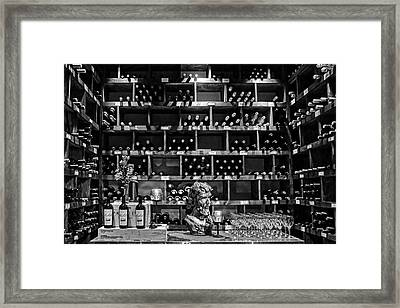 Wine Room Framed Print by Nikolyn McDonald